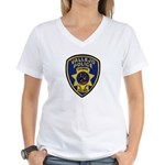 Vallejo PD Canine Women's V-Neck T-Shirt