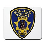 Vallejo PD Canine Mousepad