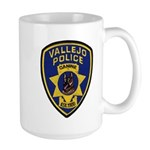 Vallejo PD Canine Large Mug