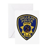 Vallejo PD Canine Greeting Card