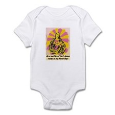 JESUS REALLY IS MY HOMEBOY Infant Bodysuit