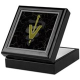 Veterinary Caduceus Keepsake Box