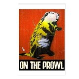ON THE PROWL Postcards (Package of 8)