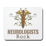 Neurologists Rock Caduceus Mousepad
