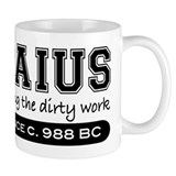 Caius Doing the Dirty Work Small Mug