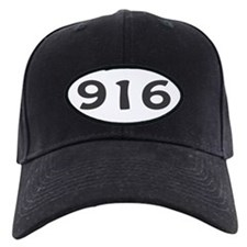 916 Area Code Baseball Hat