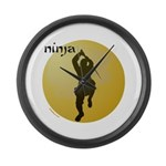 NINJA Large Wall Clock