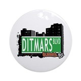 DITMARS BOULEVARD, QUEENS, NYC Ornament (Round)