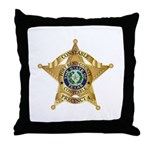 Fort Bend Constable Throw Pillow