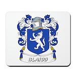 Blaidd Coat of Arms Mousepad