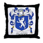 Blaidd Coat of Arms Throw Pillow