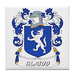 Blaidd Coat of Arms Tile Coaster