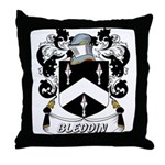 Bleddin Coat of Arms Throw Pillow