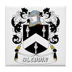Bleddin Coat of Arms Tile Coaster