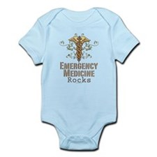 Emergency Medicine Rocks ER Doc Infant Bodysuit
