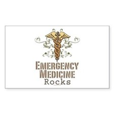 Emergency Medicine Rocks ER Doc Decal