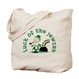 Luck of the Jewish Leprechaun Tote Bag