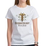 Dermatology Rocks Caduceus Women's T-Shirt