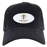 Dermatology Rocks Caduceus Black Cap