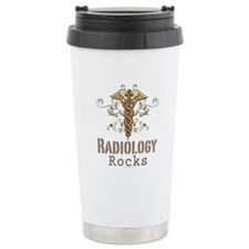 Radiology Rocks Caduceus Travel Mug