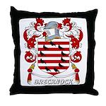 Brecknock Coat of Arms Throw Pillow