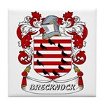 Brecknock Coat of Arms Tile Coaster