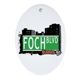 FOCH BOULEVARD, QUEENS, NYC Oval Ornament