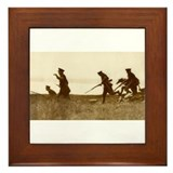 Cute World war 1 and 2 Framed Tile