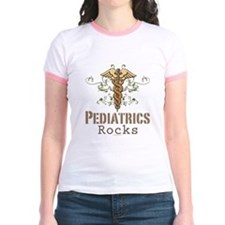 Pediatrics Rocks Caduceus T
