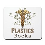 Plastics Rocks Caduceus Mousepad