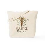 Plastics Rocks Caduceus Tote Bag