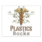 Plastics Rocks Caduceus Small Poster
