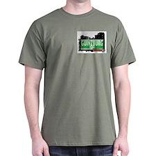 GUINZBURG ROAD, QUEENS, NYC T-Shirt