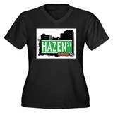 HAZEN STREET, QUEENS, NYC Women's Plus Size V-Neck