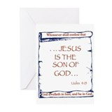 Confessor Greeting Cards (Pk of 10)