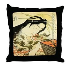 Tsukioka Throw Pillow