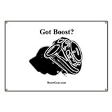 Got Boost? - Turbo Racing Pit Banner