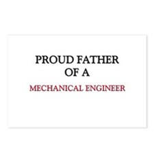 Proud Father Of A MECHANICAL ENGINEER Postcards (P