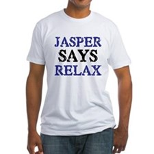 Fitted Twilight T-Shirt - Jasper Says Relax