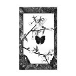 The Butterfly Rectangle Sticker