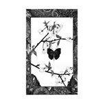 The Butterfly Rectangle Sticker 10 pk)