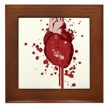 Bleeding Heart Framed Tile