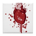 Bleeding Heart Tile Coaster