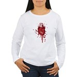 Bleeding Heart Women's Long Sleeve T-Shirt