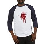 Bleeding Heart Baseball Jersey