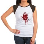 Bleeding Heart Women's Cap Sleeve T-Shirt