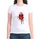 Bleeding Heart Jr. Ringer T-Shirt