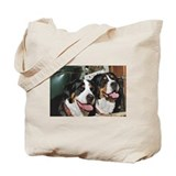 Unique Swiss mountain dog Tote Bag