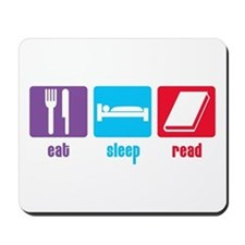 Eat Sleep Read Mousepad