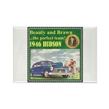 """1946 Hudson Ad"" Rectangle Magnet"